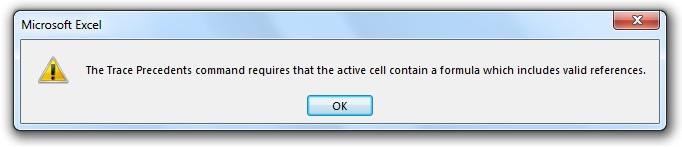 آموزش فرمول نویسی در اکسل - خطا در صورت نبود ارتباط بین سلول ها