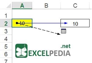 آموزش فرمول نویسی در اکسل - نمایش سلول های تأثیرپذیر
