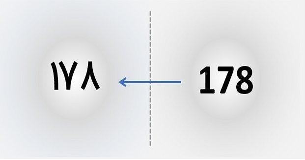 اعداد فارسی در اکسل