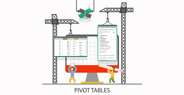 Pivot Table - جداول پاشنه ای