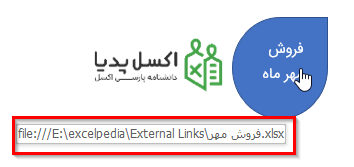 لینک Object به یک فایل خارجی