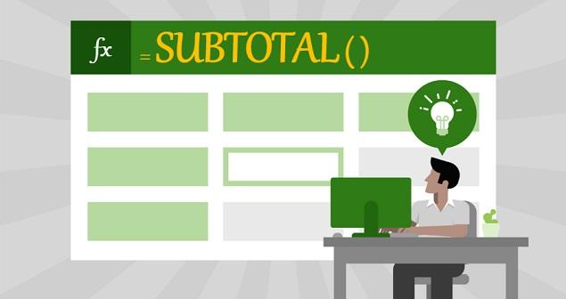 تابع Subtotal