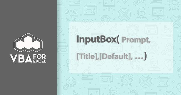 تابع InputBox