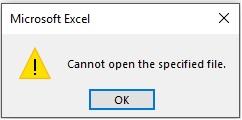 خطای تعیین نکردن پسوند فایل