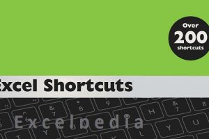 Excel Shortcuts Book Cover