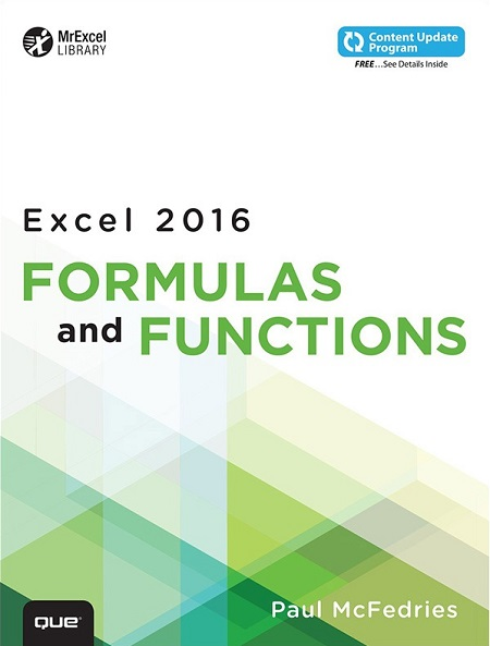 کتاب فرمول نویسی در اکسل 2016