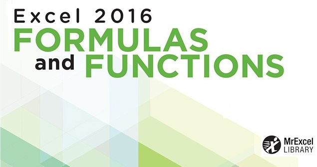 دانلود کتاب Excel 2016 Formulas and Functions