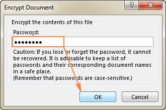 قفل کردن محتوای فایل با رمز