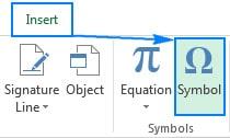اضافه کردن نقاط گلوله ای از طریق Symbol