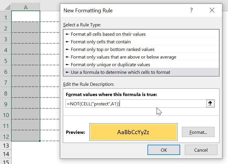 هایلایت سلول ها-فرمت دهی شرطی Conditional formatting